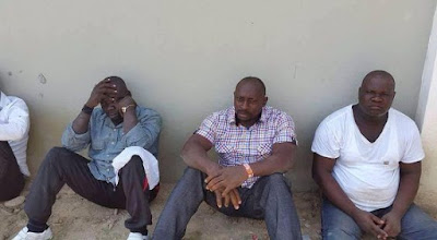Men arrested for trailing Goodluck Jonathan's convoy