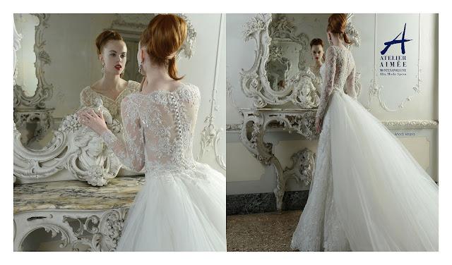 Hermosos vestidos de novias | Coleccion Atelier Aimée Montenapoleone