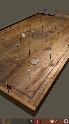 Çivi Futbolu WoodBall Oyun Ekranı