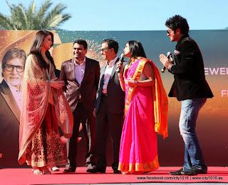 Aishwarya Rai at Kalyan Jewellers showroom at Dubai
