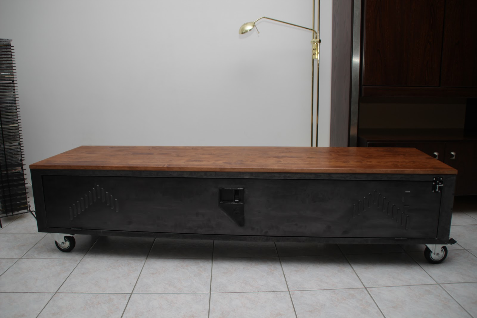 Meuble Tv Industriel Occasion Perfect Enfilade Bahut Buffet  # Vestiaire Industrielle Meuble Tv