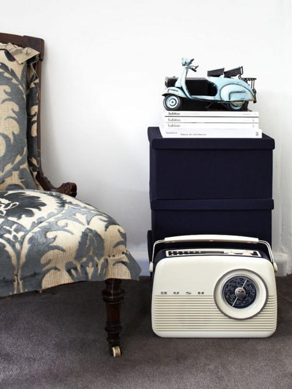 Radio vatio miniatura casi vintage