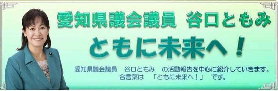 愛知県議会議員(名古屋市昭和区) 谷口ともみ ともに未来へ