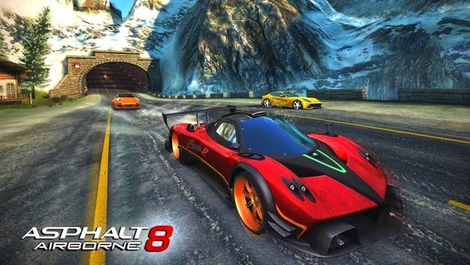 Asphalt 8 Airborne Apk data Free Download
