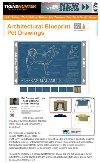 To you animal blueprint company is featured on trend hunter animal blueprint company is featured on trend hunter malvernweather Image collections