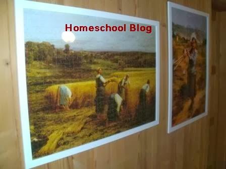 Puzzle mit 2000 Teile, Homeschool Blog, Bernice und Jan Zieba