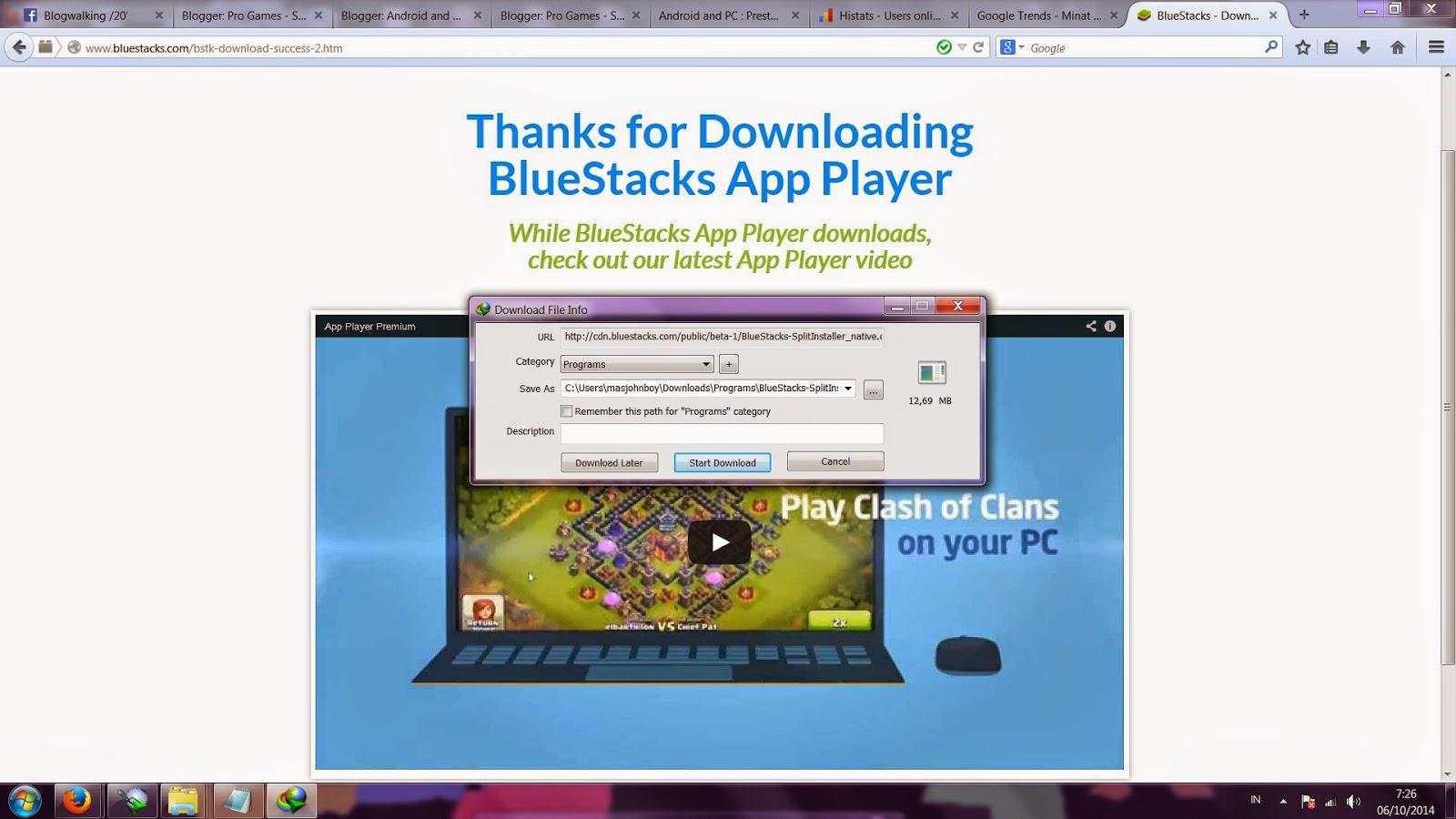 tips memainkan game android di PC