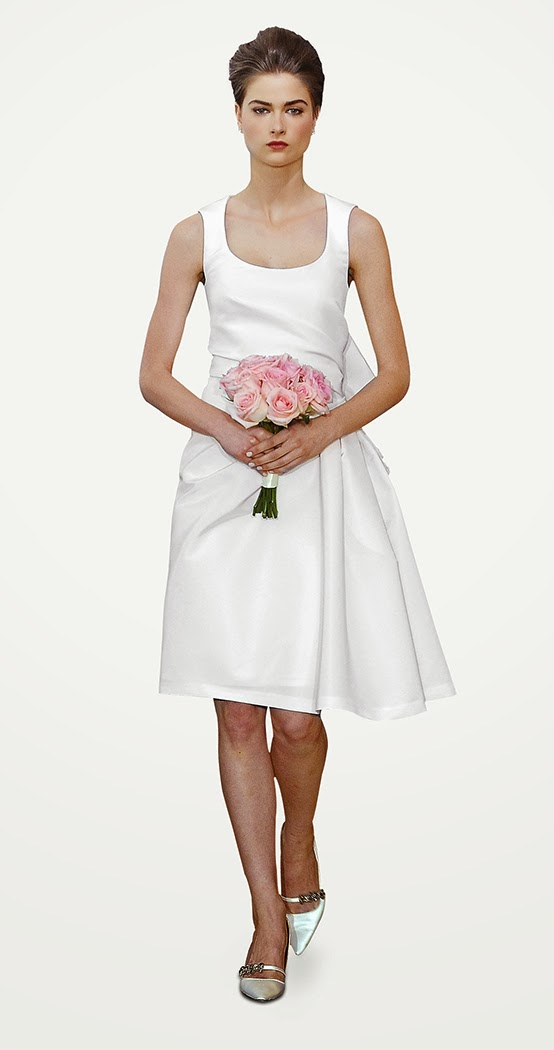Brautjungfer kleider brautjungfernkleider carolina herrera 2014 mode