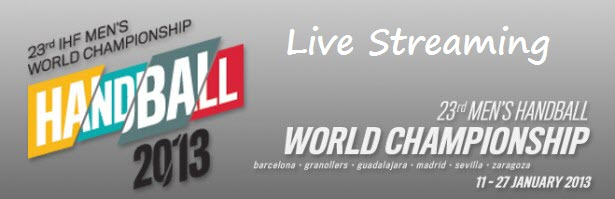 Handball 2013 world championship live streaming