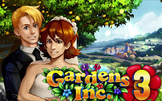 Screenshots of the Gardens inc. 3 for Android tablet, phone.