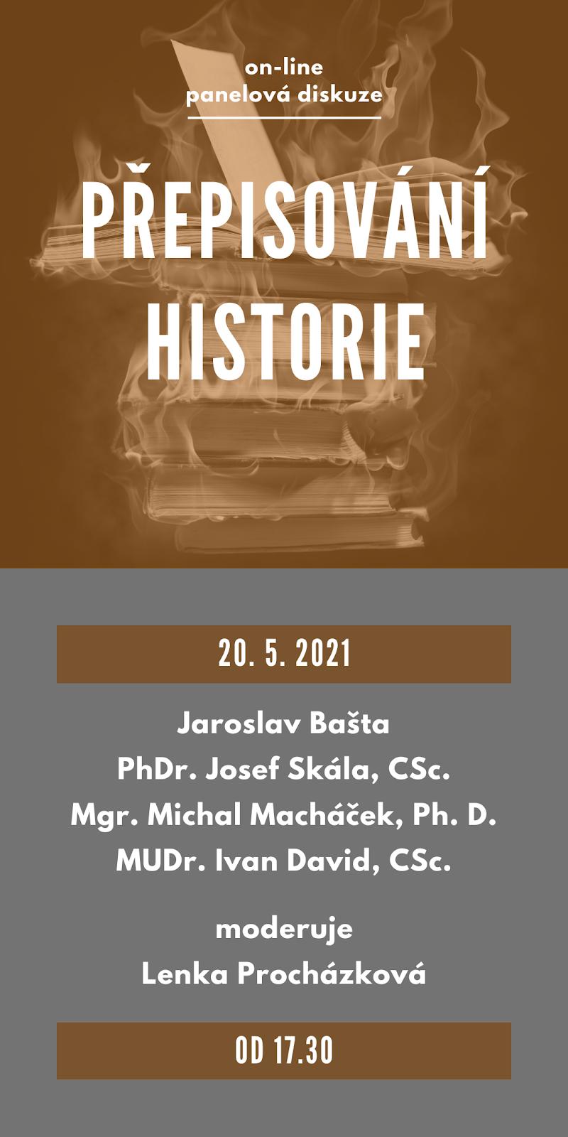 Panelová diskuze 20. 5. 2021