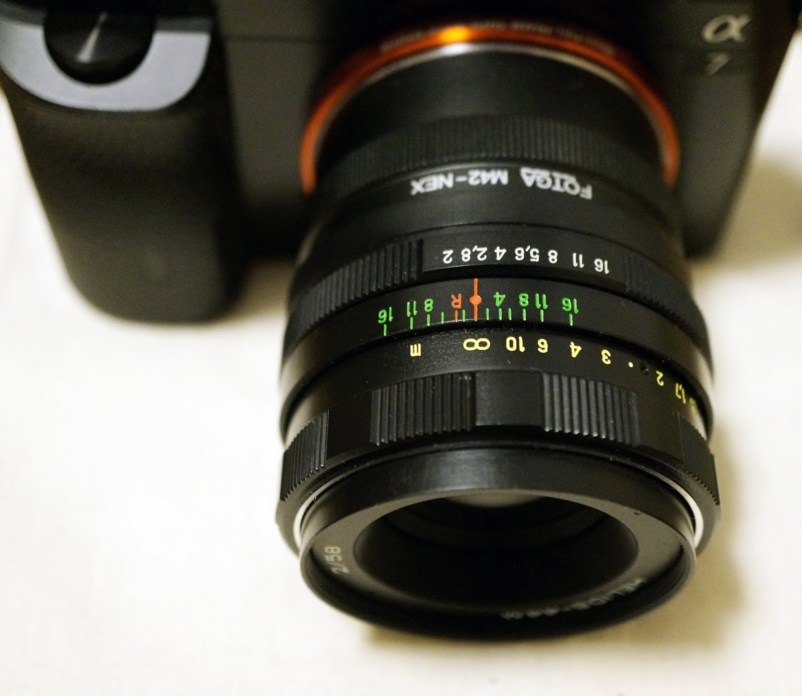 レンズ改造で遊ぶ helios 44m 58mm f2 ロシア m42マウントレンズ