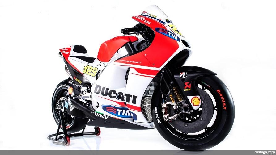 MotoGP : Ducati resmi rilis Desmosedici GP15 . . . lebih kecil dari sebelumnya