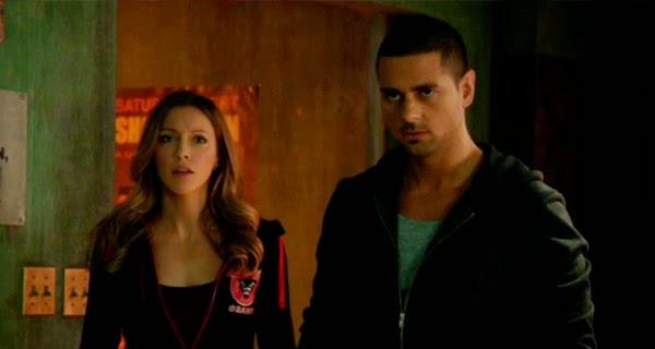Laurel y Ted Grant en Arrow 3x06 - Guilty