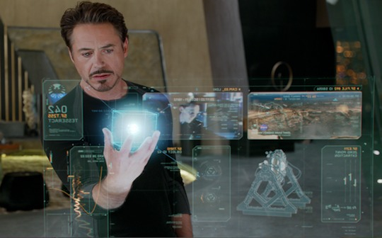 ironman holographic display making