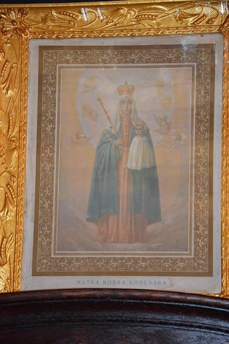 stary obraz Matka Boska
