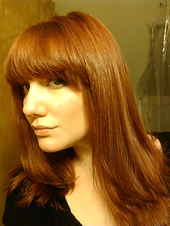 L'Oreal Preference Mega Reds MR3 Medium Intense Red Copper Results