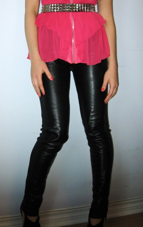 Simple Latest Leather Pants For Women  Wallpapers Pictures Fashion Mobile