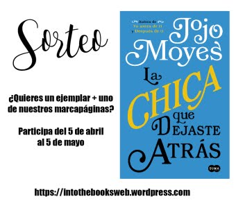Participo en el SORTEO de Into the books web