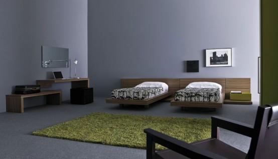 Dise o de habitaciones modernas y elegantes para for Diseno de habitacion para adolescente