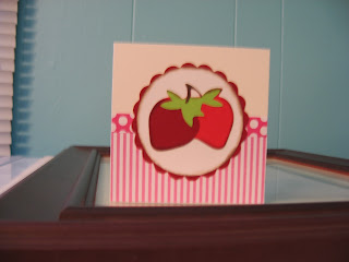 Strawberry card