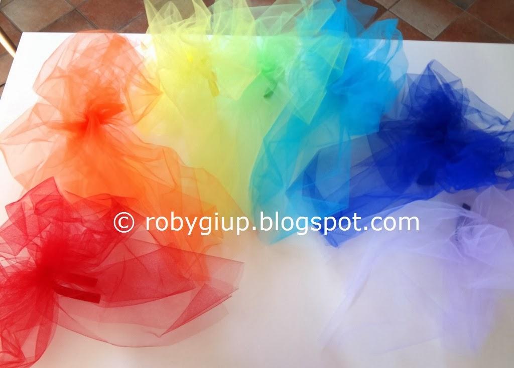 Estremamente RobyGiup handmade: Fiocchi di tulle - Tulle bows RQ96