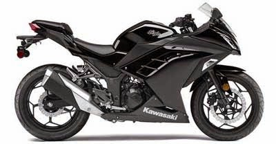 Foto Motor Ninja 300 fi