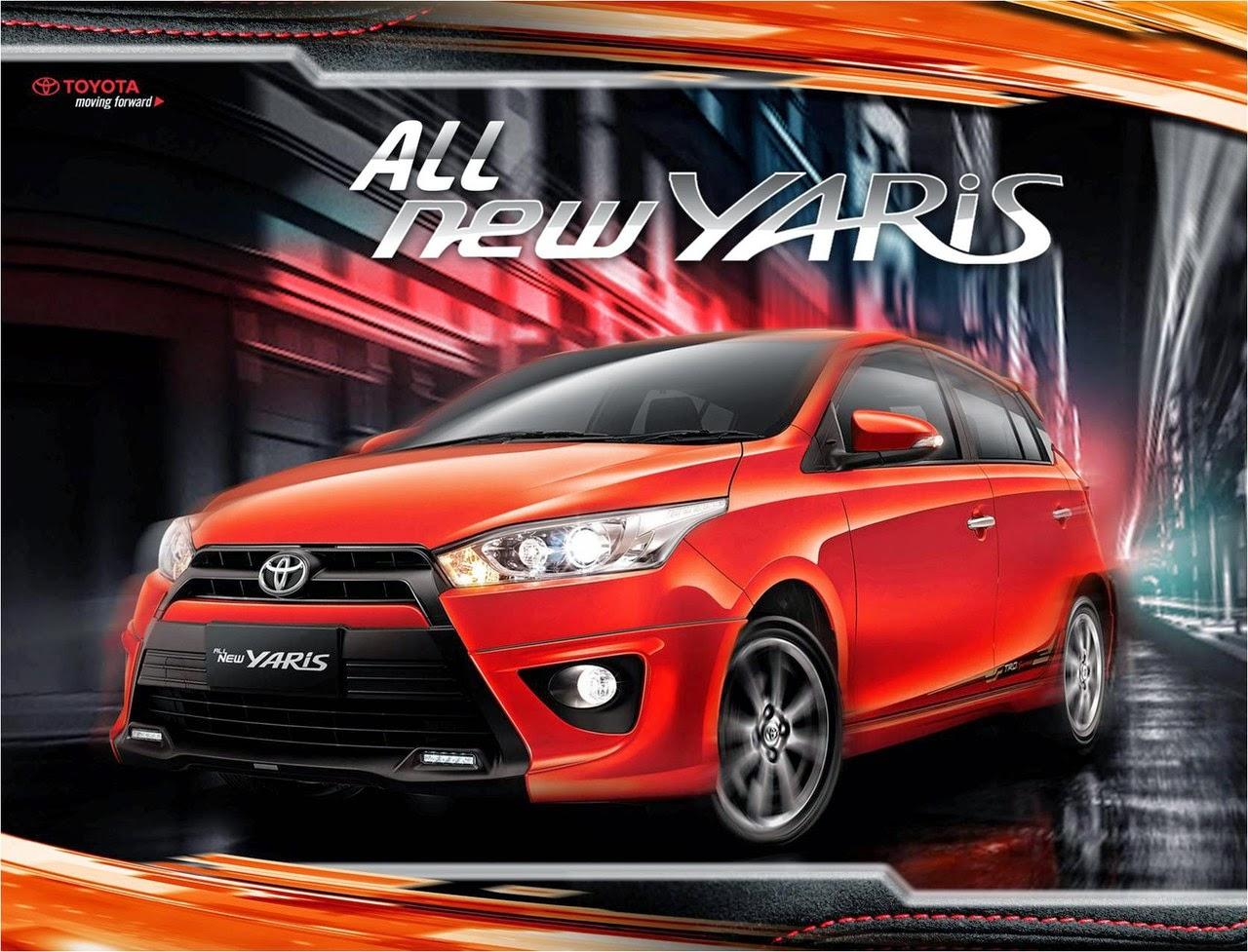 Harga Dan Spesifikasi Mobil Toyota All New Yaris
