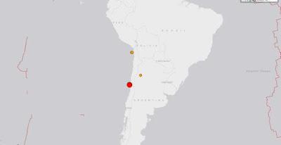 TERREMOTO 7,9 GRADOS SACUDE CHILE