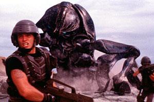 Casper van Dien en Starship Troopers