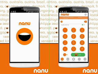 Free download app Nanu for Android .apk full - Free voice call on 2G Signal
