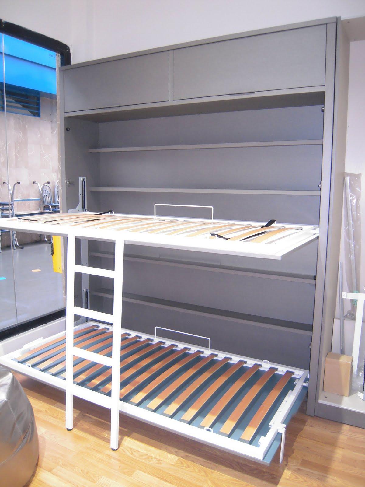 Tienda muebles modernos muebles de salon modernos salones - Literas abatibles lagrama ...