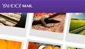 administrar fotos en Yahoo mail
