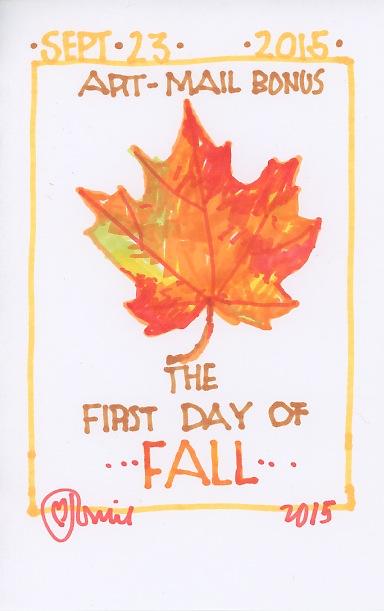 Official Beginning Of Fall