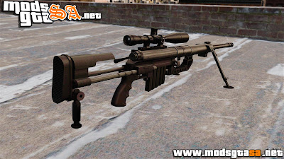 IV - Rifle sniper intervenção CheyTac