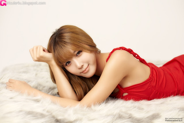 1 Heo Yoon Mi - Red Hot-very cute asian girl-girlcute4u.blogspot.com