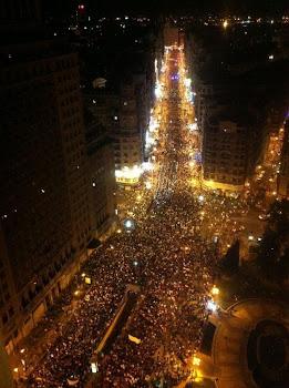 Gran vía - Madrid-Mineros-10/07/2012