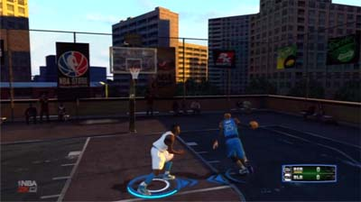 NBA 2K13 One on one game