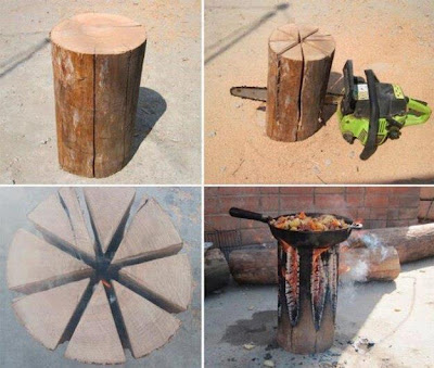 A Real Wood Stove – 5/31/12