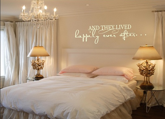 Wedding Bedroom Wall Decoration : Quotes and sayings decoration interior design