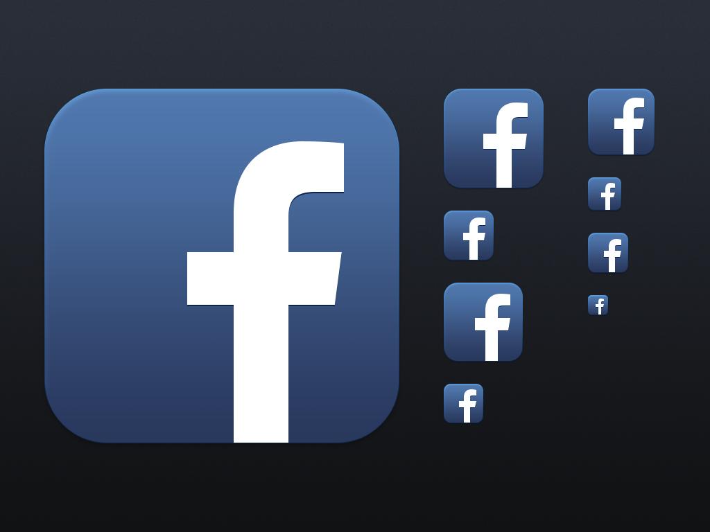 Facebook App Logo - Type Logos Facebook App Logo