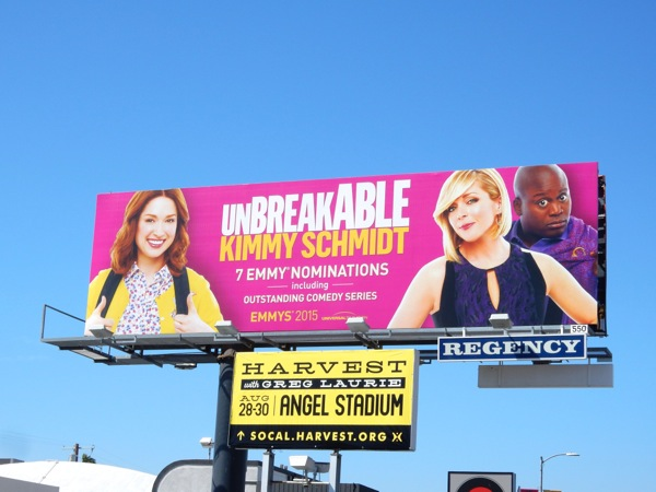 Unbreakable Kimmy Schmidt 7 Emmy noms billboard