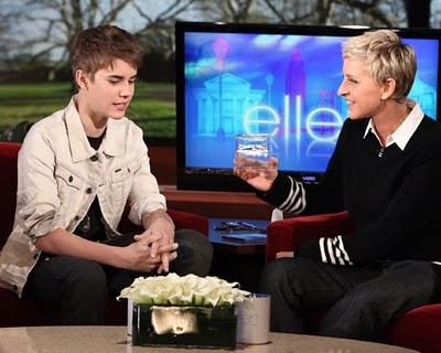 bieber-ellen-hair.jpg In case you haven't heard, Justin Bieber cut his hair.