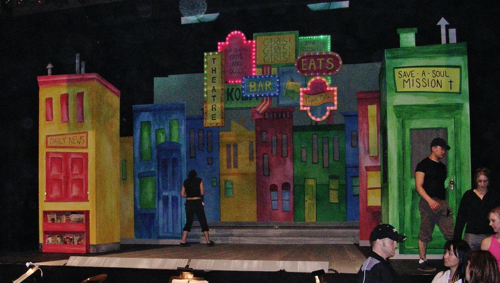 Lance Cardinal Creative Blog Guys And Dolls Set Design