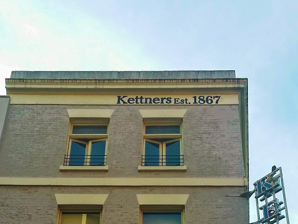 london | pre-theatre dinner at kettner's