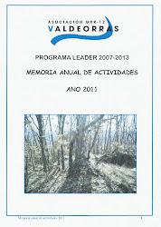 Memoria de actividade 2011