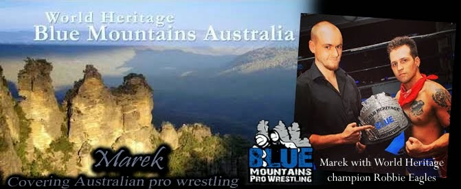 Marek - Covering Australian Pro-Wrestling