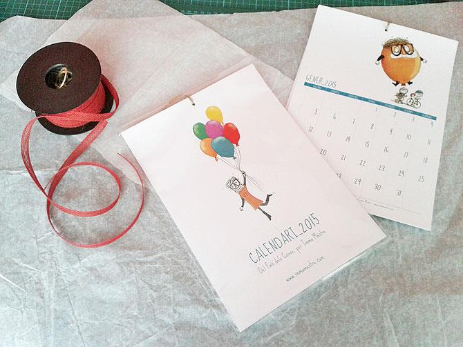 Calendaris Del Pais dels Coixos pel 2015. ©Imma Mestre Cunillera
