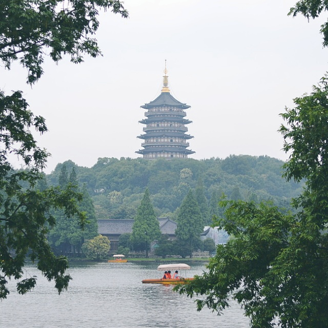 West Lake, Leifeng Pagoda