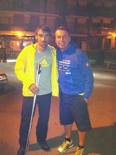 Con Luis alberto Hernando